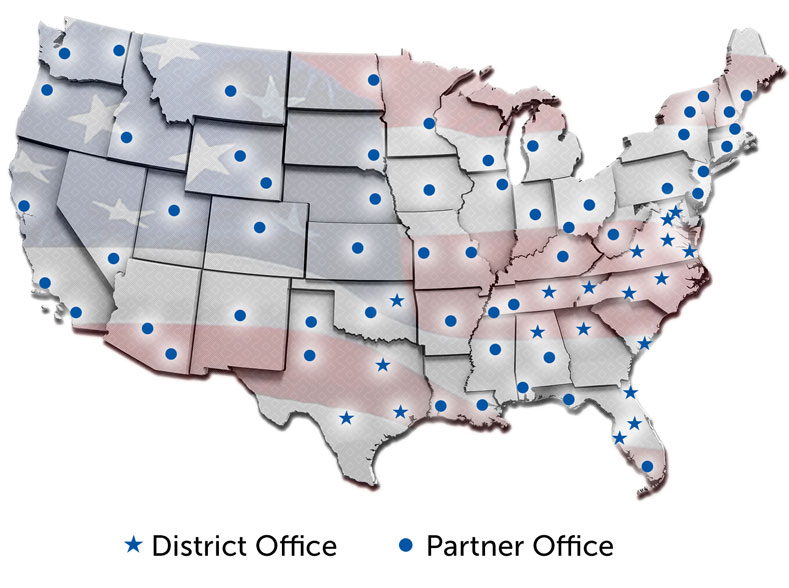 Our Nationwide Locations